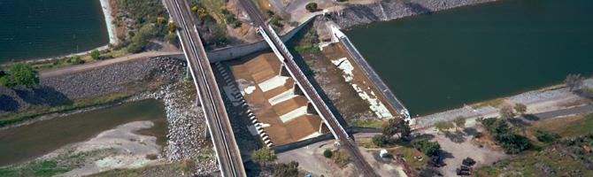 Flood Control Dam Flood Control Channel